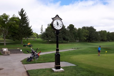 Golf Post Clocks